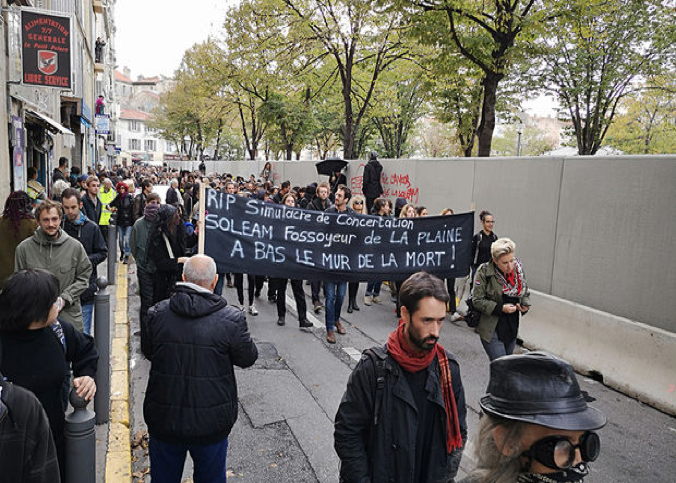 Gentrification policies and urban protests in Marseille