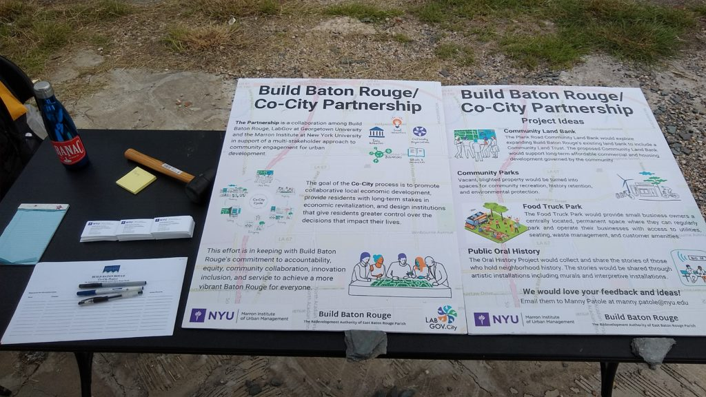 The Co-City Baton Rouge Project: 2019, a year in review