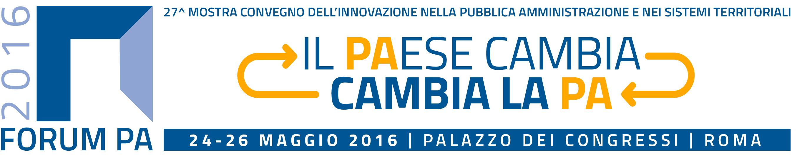 L'intelligenza della città partecipata, Roma Palazzo dei Congressi, 24 May 2016