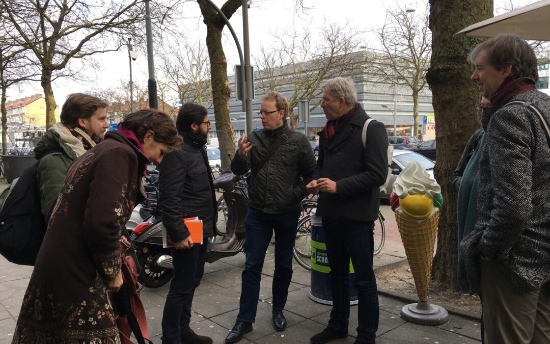 Building urban commons through action research