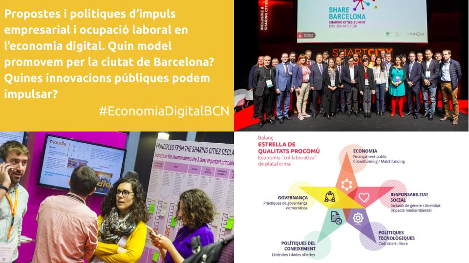 The UOC organized an electoral debate in Barcelona on the platform economy