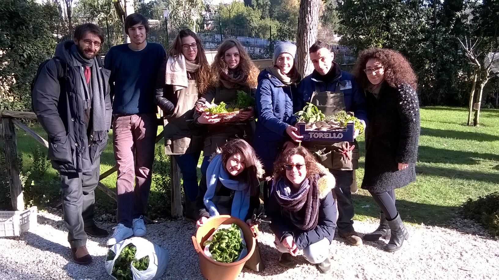 Luiss garden: the first harvest and the (re)discovering of the little joy of life.
