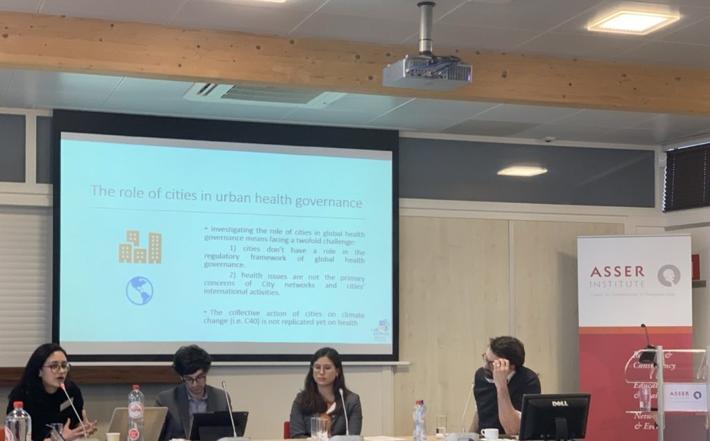 Cities and international law in the Urban Age: LabGov presents research on the role of cities and city networks in global urban health governance in the Hague