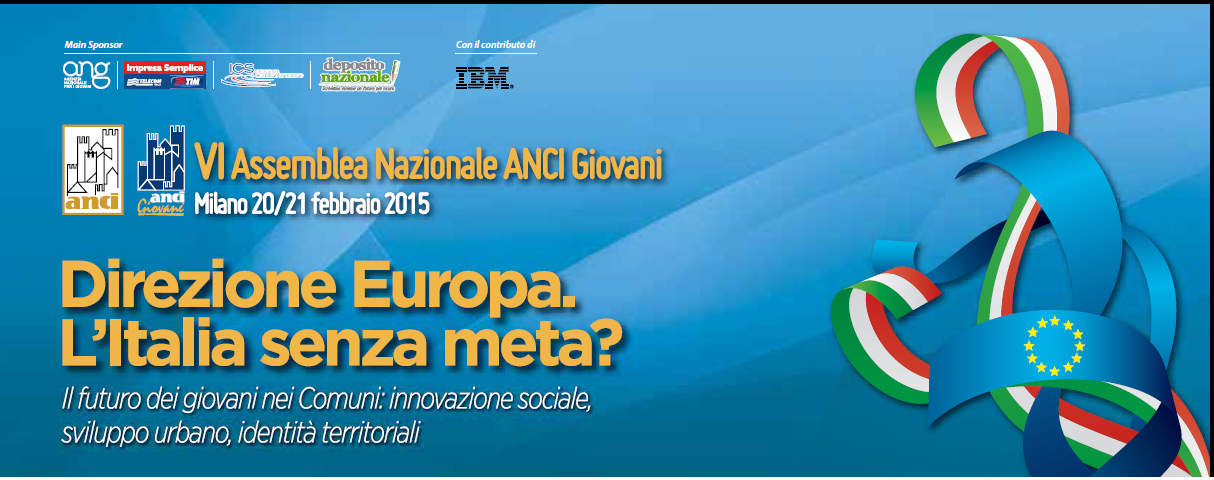 VI National Conference of ANCI Giovani: social innovation, smart cities and cultural heritage