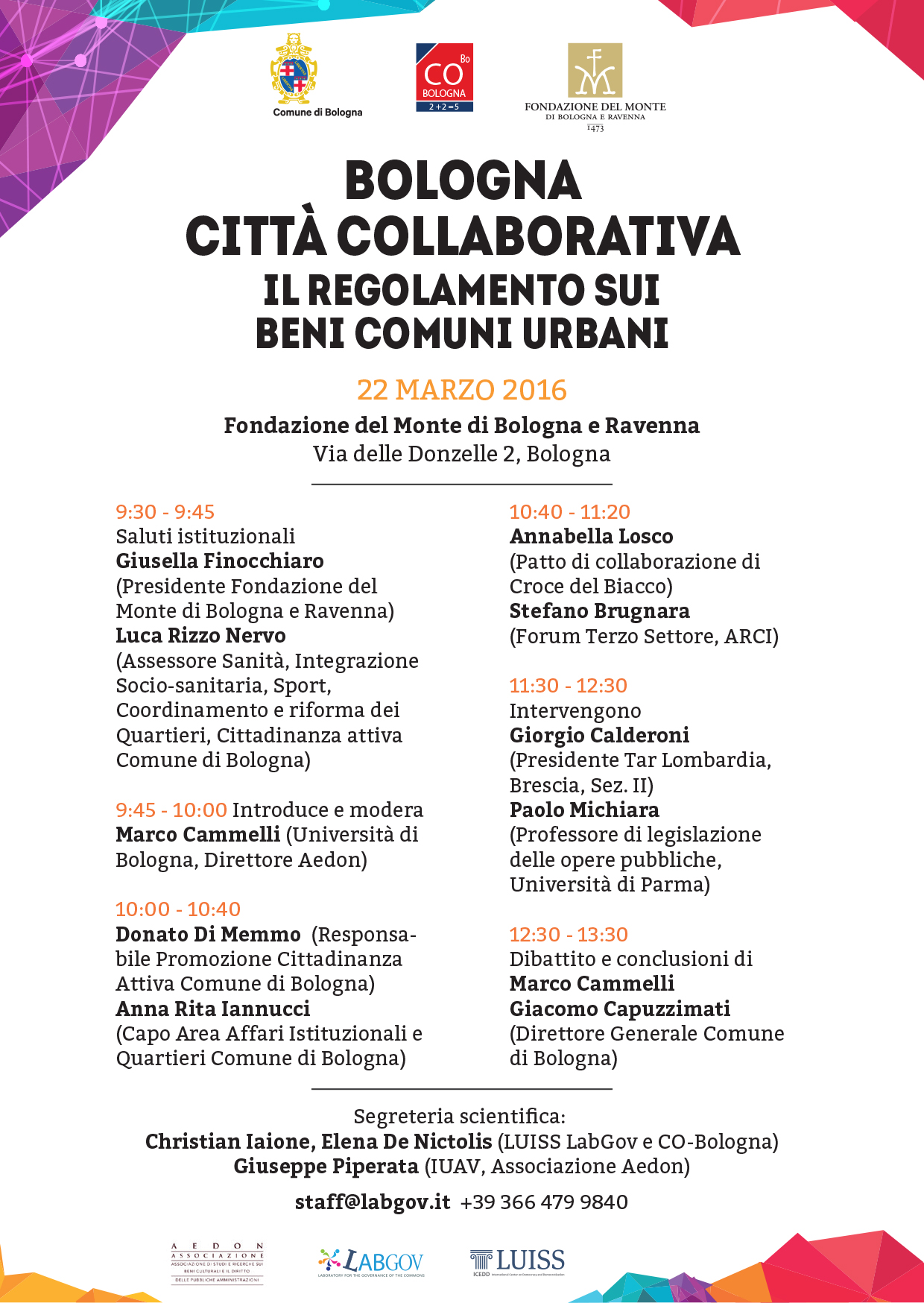 CO-Bologna restarts to build new forms of collaborative governance