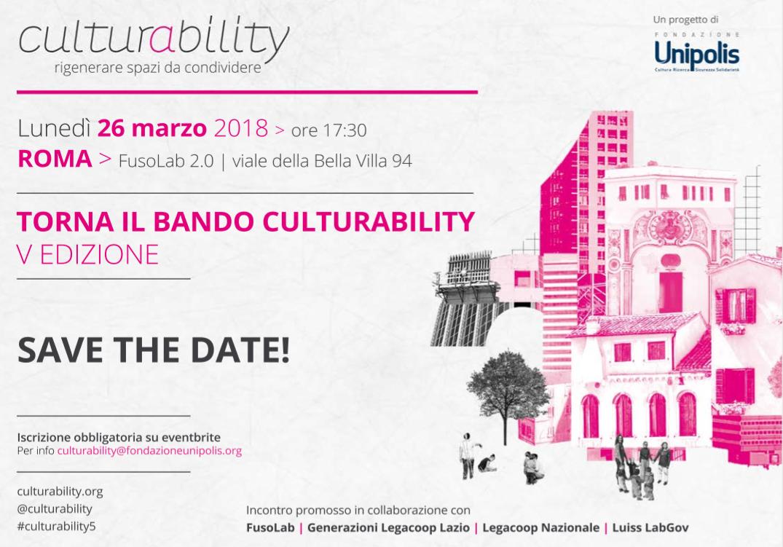 Culturability 2018 in Rome