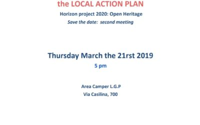 Save the date: second co-planning session of the Rome Collaboratory for the Local Action Plan