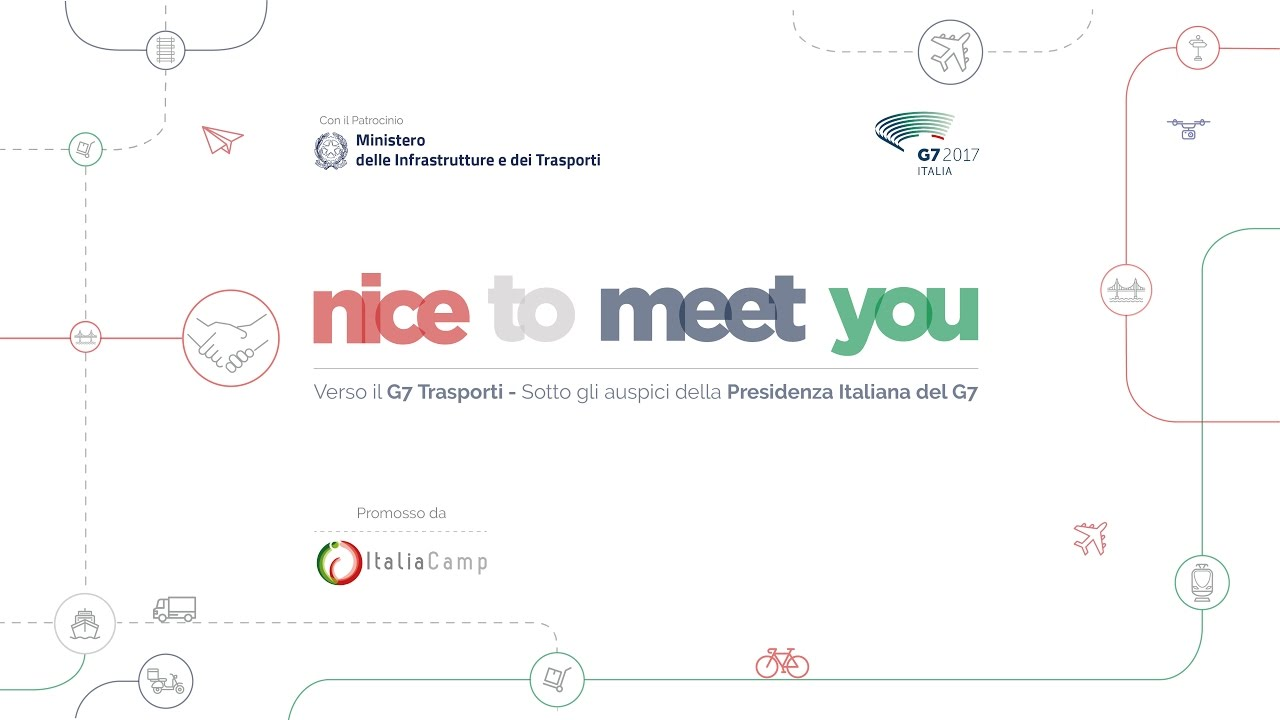 "Call for practice – ""Nice to meet you G7!"""