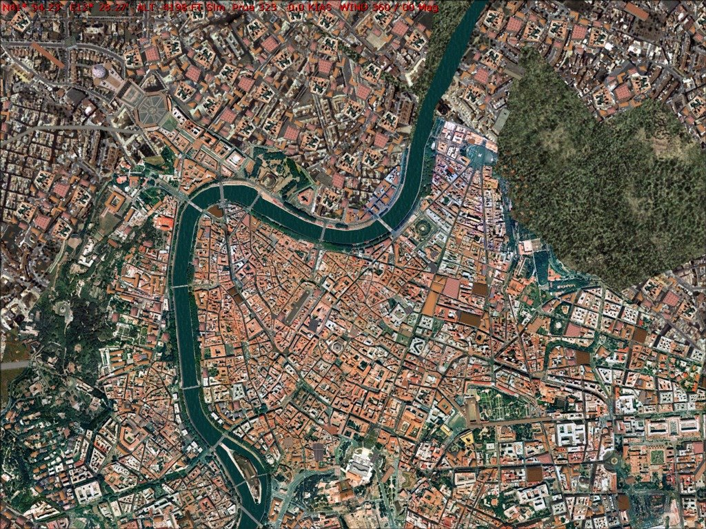 Conference on the Tevere's river contract