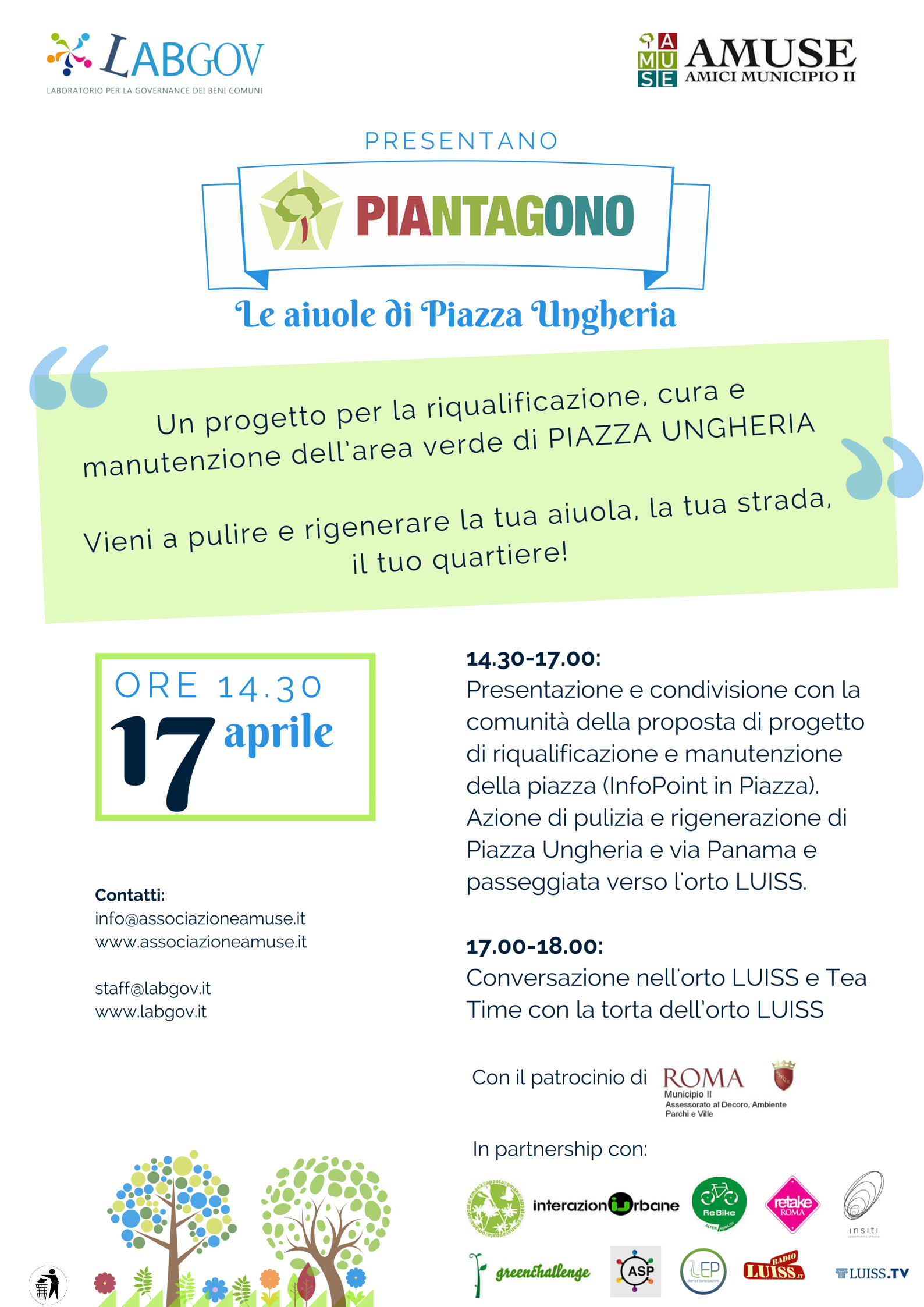PIANTAGONO – Cleaning our flowerbed to regenerate our neighbourhood!