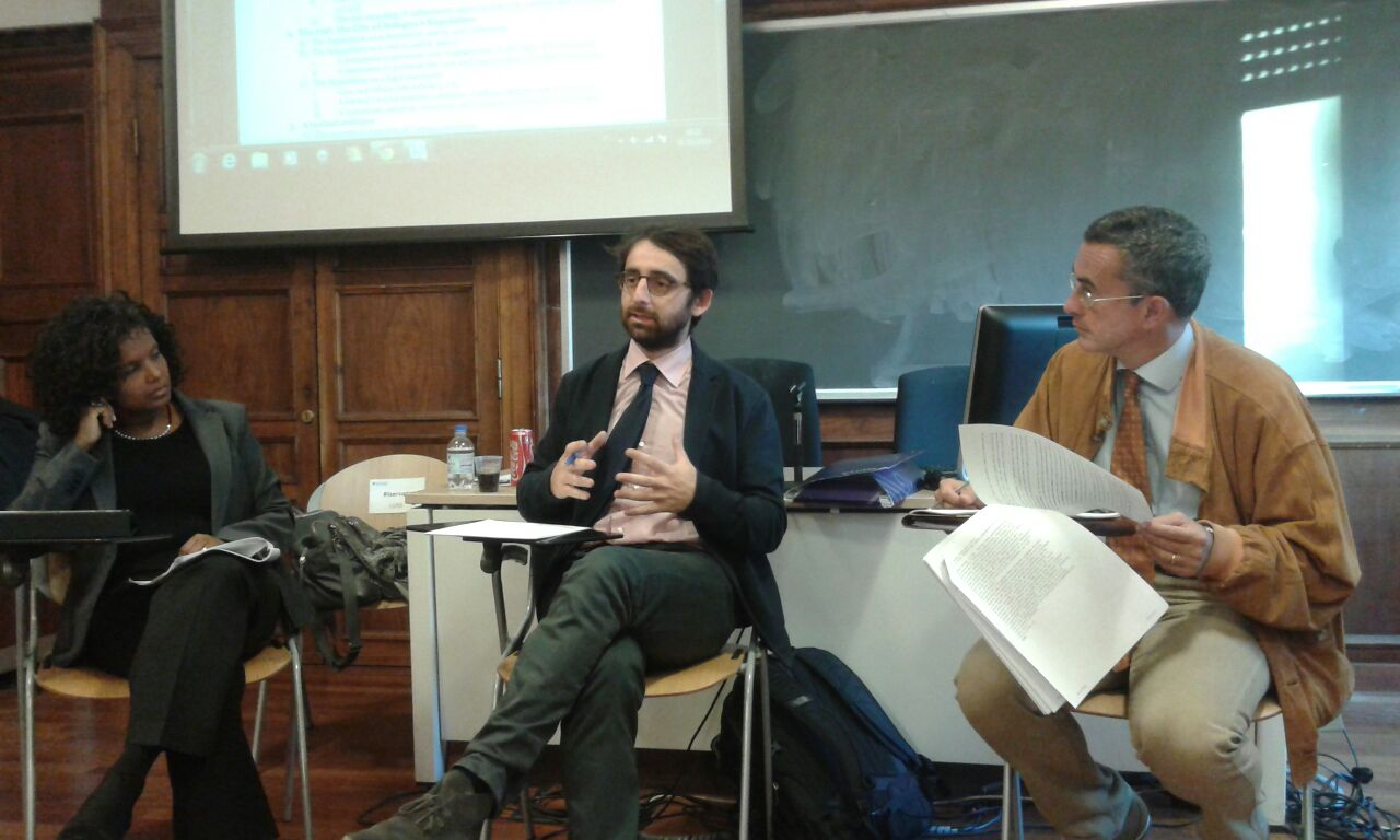 LabGov's inter-atlantic workshop on the Urban Commons: Sheila Foster and Giacinto della Cananea speak with the Labgovers