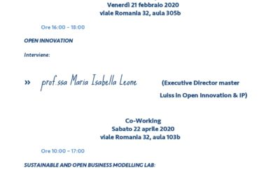 Let's begin! The first module: Idea Generation Lab will take place on February 21th and 22th