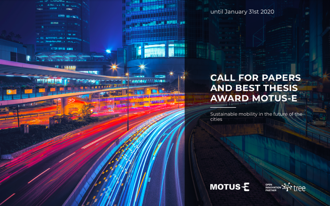 Call for Papers and a Best Thesis Award by MOTUS-E to Prize the Best Research Contribution in E-mobility!