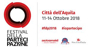 Festival della Partecipazione, L'Aquila 11-14 ottobre