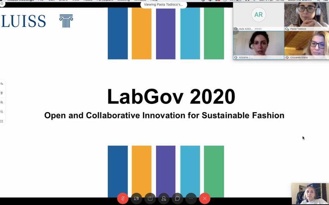 The fourth module of the interdisciplinary Urban Clinic LabGov 2020
